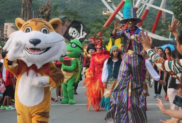 Berlibur Bogor Coba Tempat Ilustrasi Jungleland Adventure Themepark Ist Theme