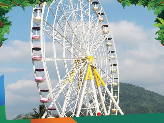 Harga Tiket Masuk Jungleland Daya Tarik Adventure Theme Park Kab