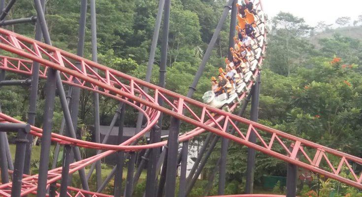 Img 20171220 Wa0030 735x400 Jpg Roller Coaster Terpanjang Jungleland Pengunjung