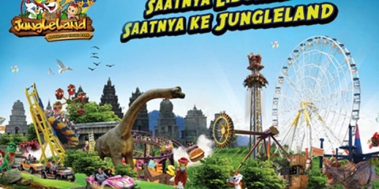 Jungeland Sentul Tawarkan Harga Spesial Akhir Jungleland Adventure Theme Park