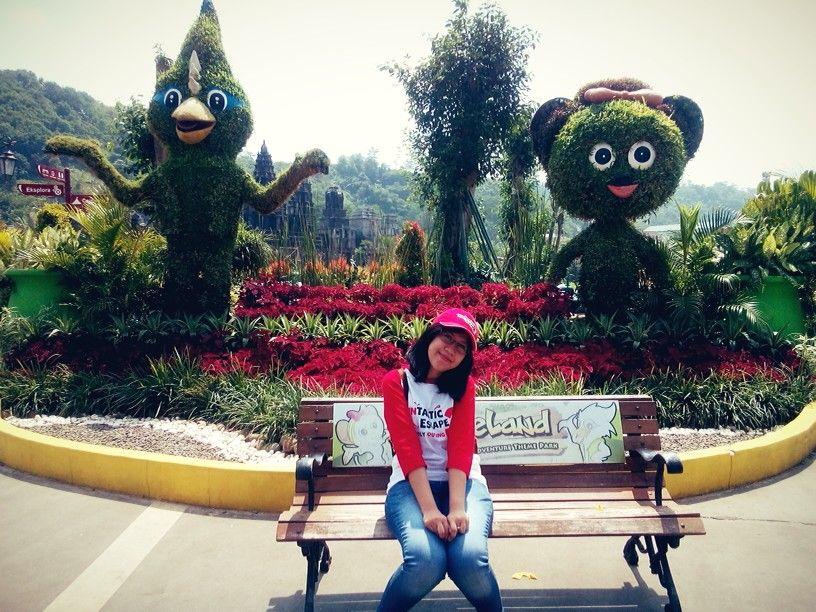 Jungleland Adventure Theme Park Bogor Jawa Barat Jalan Kab