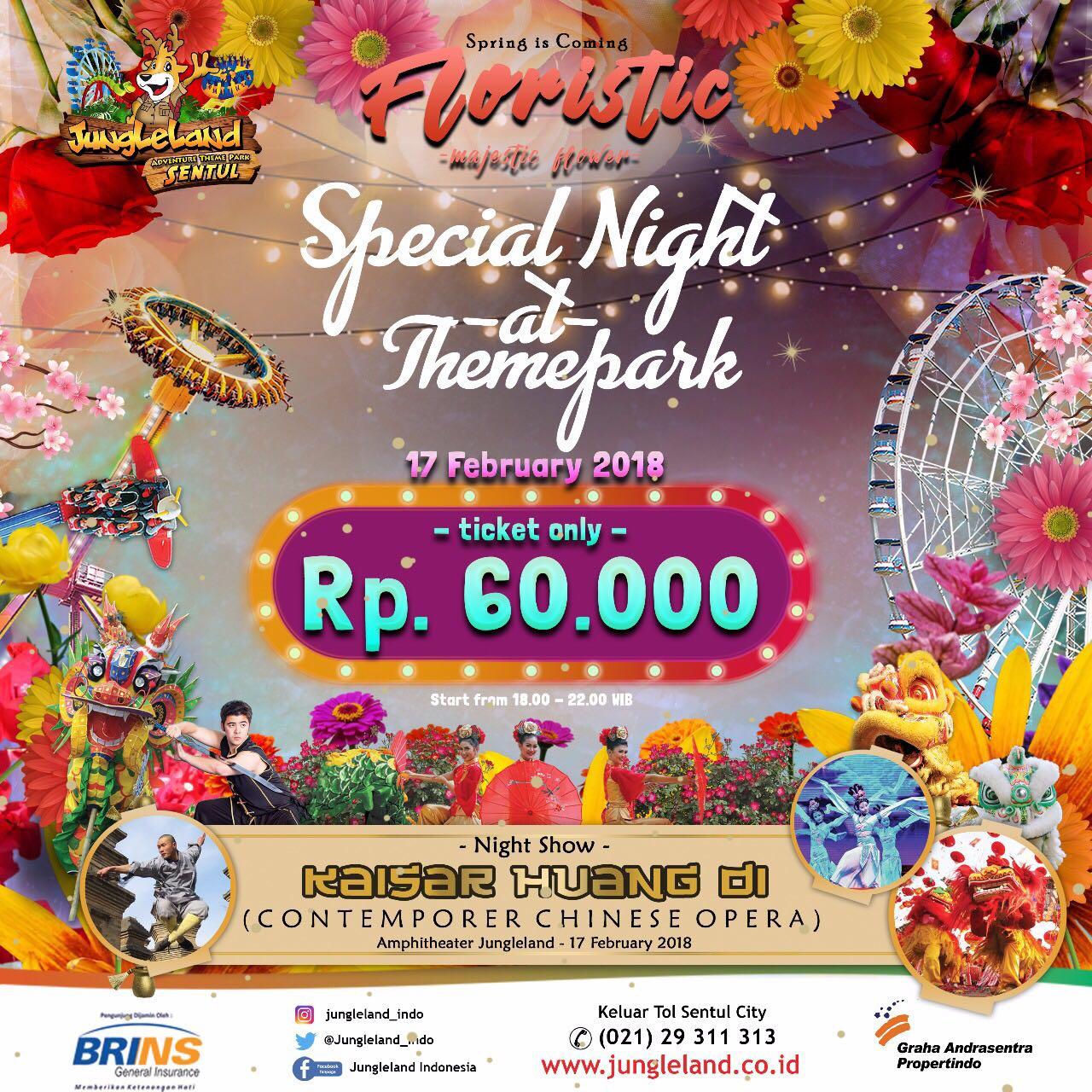 Tiket Masuk Jungleland Adventure Theme Park Kab Bogor 2018 Annual Pass Jungle Land Sentul Spring Coming Berita