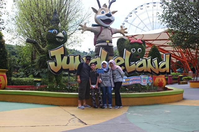 Jungleland Hutan Tertukar Lainnya Bogor Adventure Theme Park Kab