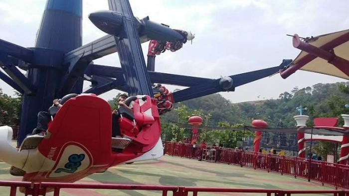 Menantang Nyali Jungleland Adventure Theme Park Tribunnewsbogor Wahana Air Race
