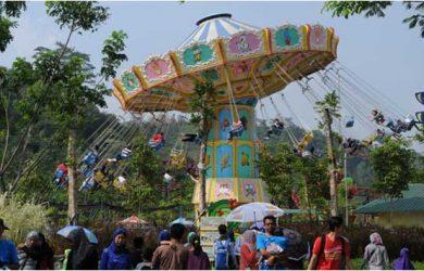 Semarak Mayphoria Jungleland Sentul Bogor Sambut Ribuan Wisatawan Adventure Theme