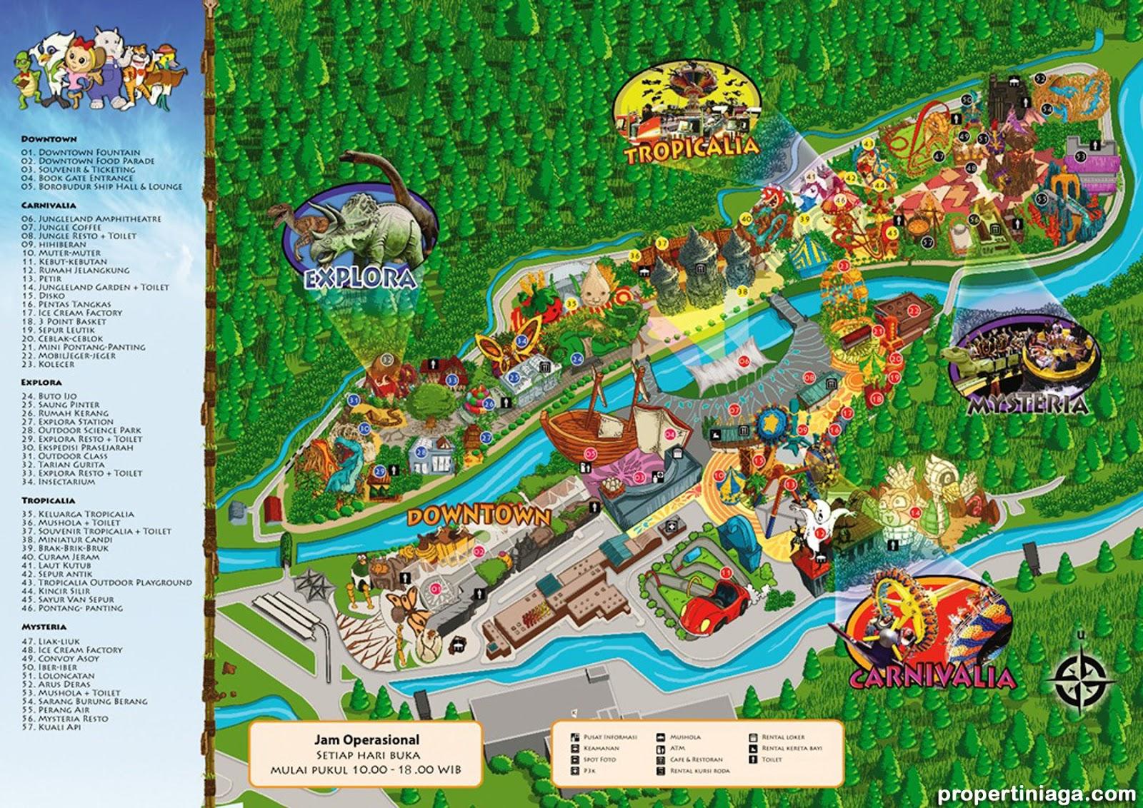 Sentul City Property Agustus 2013 Permainan Jungleland Adventure Theme Park