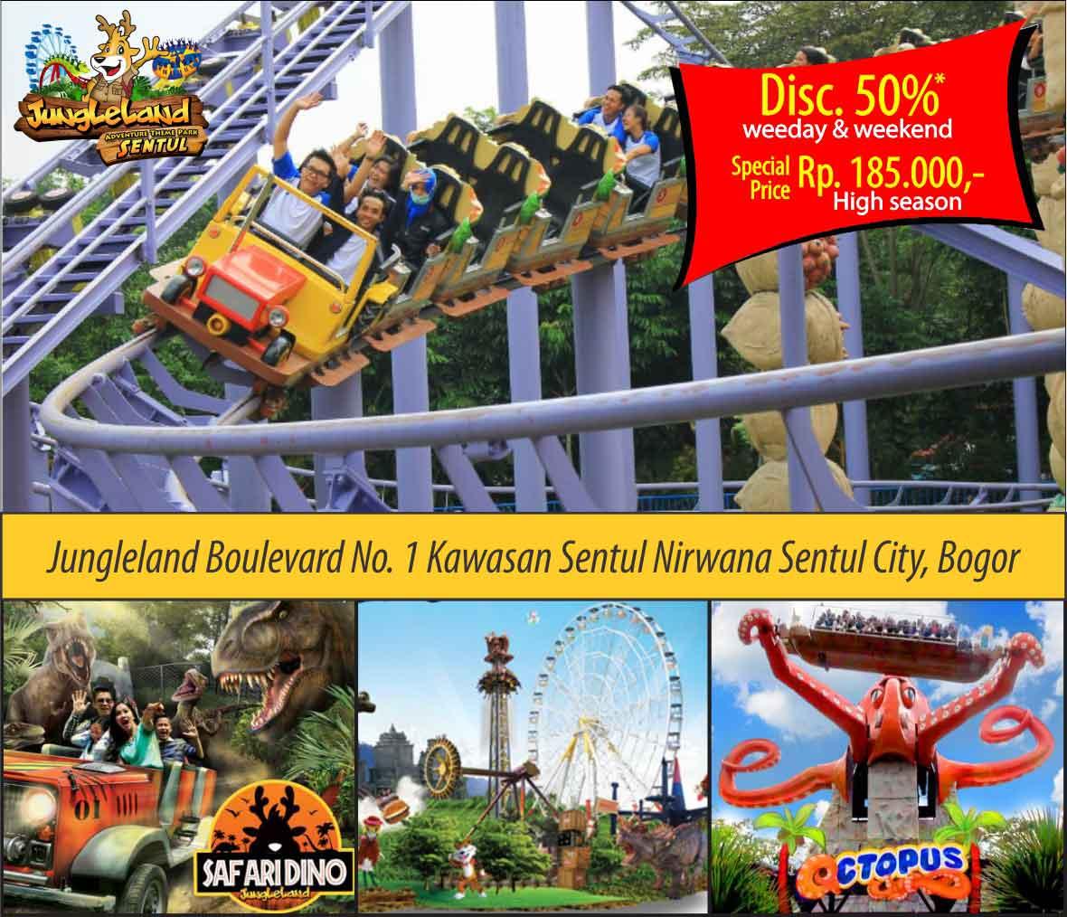 Travelcare Indonesia Jungleland Adventure Theme Park Kab Bogor
