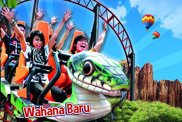 Wow Snake Coaster Jungleland Bikin Ciut Nyali Jurnal Bogor Wahana
