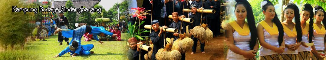 Kampung Budaya Sindang Barang Bogor Tempat Wisata Sindangbarang Kab
