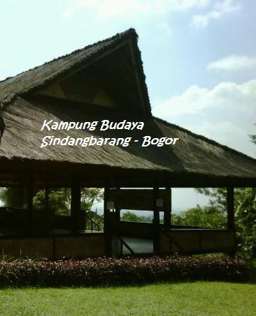 Kampung Budaya Sindangbarang Bogor Sumedang Cyber Online Terletak Desa Pasir