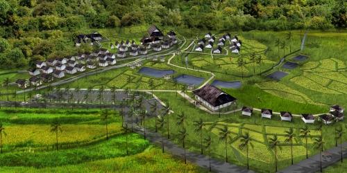 Sayembara Kampung Sindangbarang Development Desa Pasir Eurih Village Subject Budaya