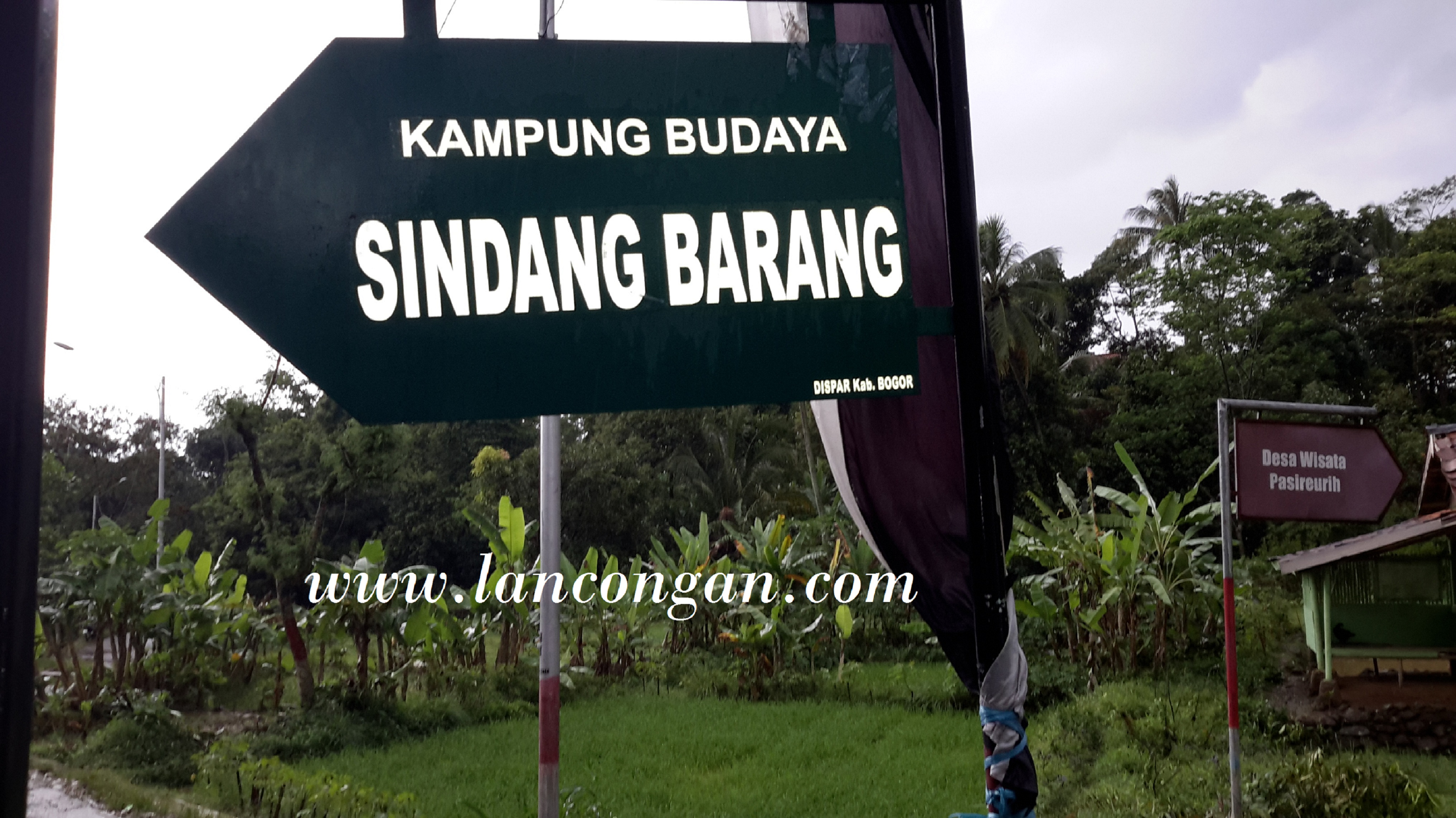 Wisata Kampung Budaya Sindang Barang Bogor Lancongan Travel Planner Lokasi
