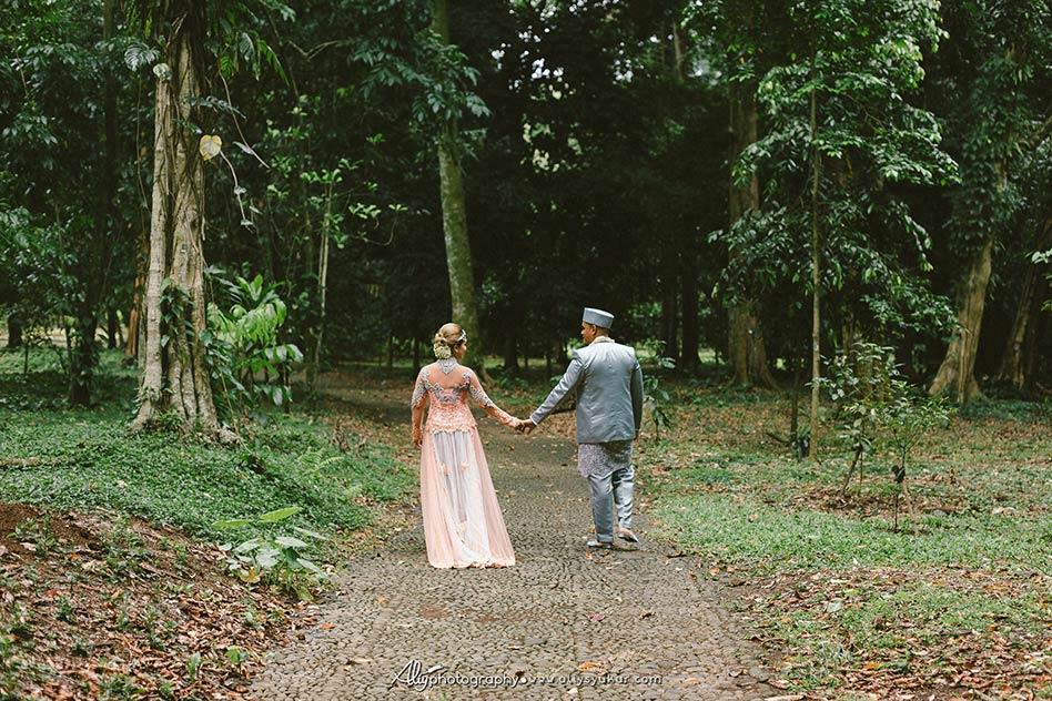 American Couple Post Wedding Kebun Raya Bogor 7 Kab