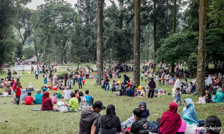 Cain Lemontri Pengunjung Kebun Raya Bogor Tembus 23 466 Hasil