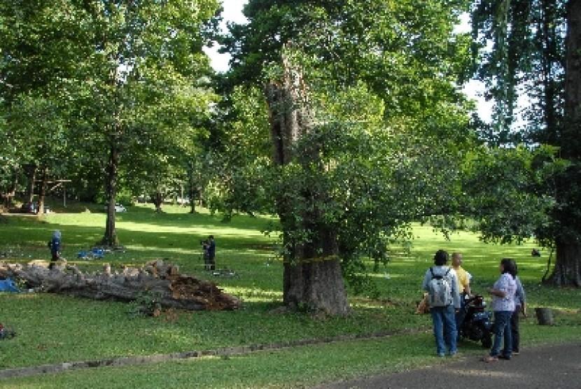 Kebun Raya Bogor Resmikan 2 Kawasan Republika Online Suasana Kab