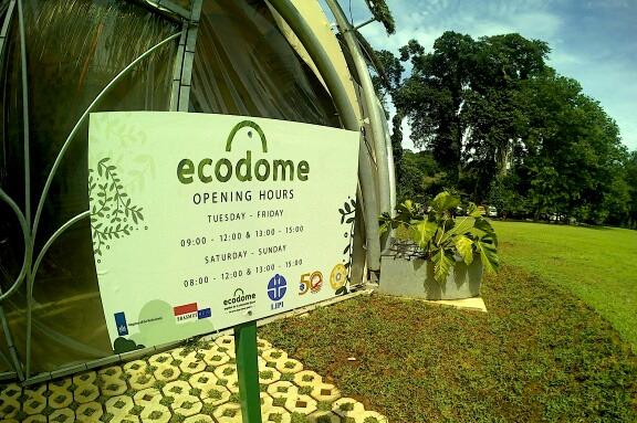 Raya Bogor Hadirkan Wahana Ecodome Kebun Kab