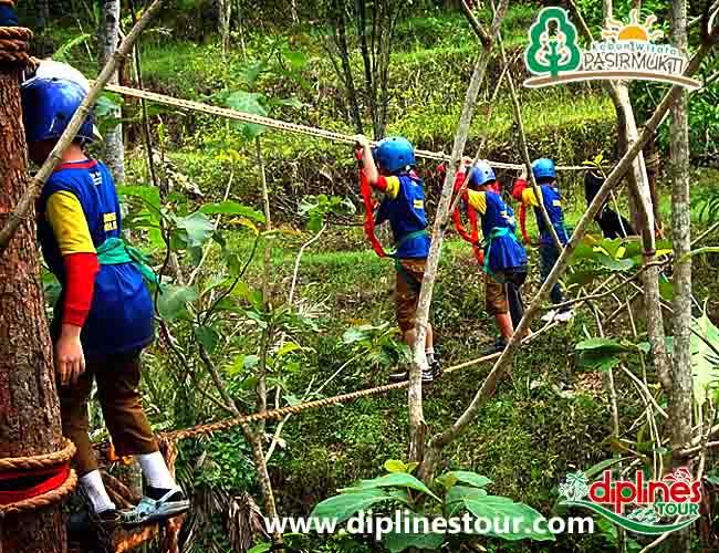 Diplines Tour Tourism Catalogue Referensi Wisata Panduan Outbound Kebun Pasirmukti