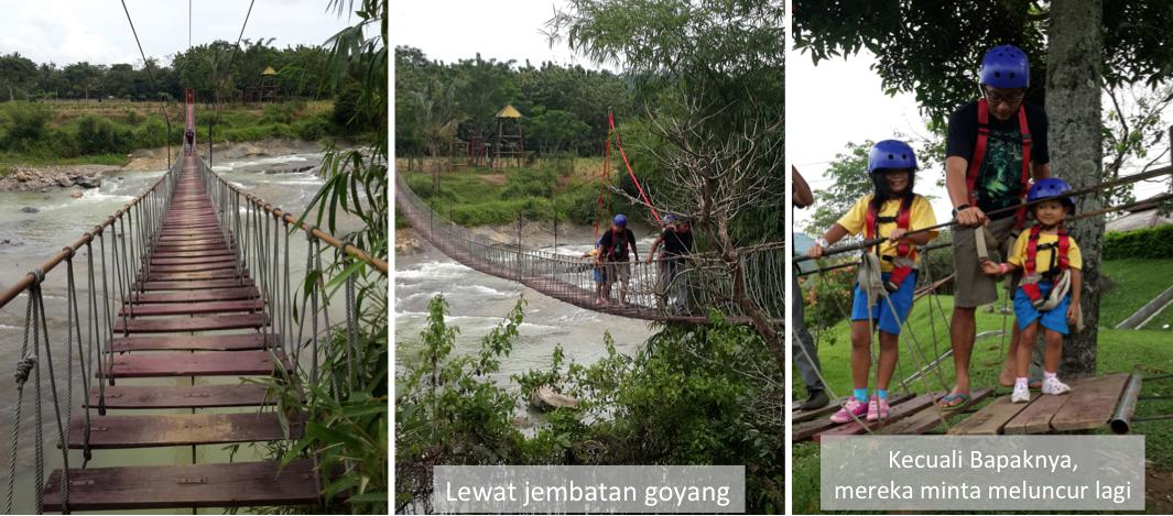 Pasir Mukti Wisata Outdoor Bogor Blog Swastika Nohara Jembatan Goyang