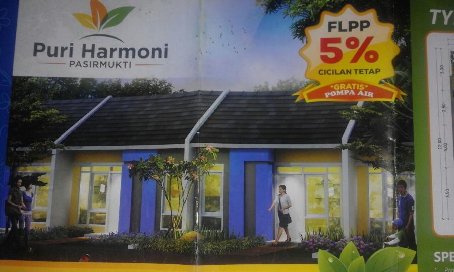 Rumah Dijual Strategis View Pegunungan Udara Bersih Alami Kebun Bogor