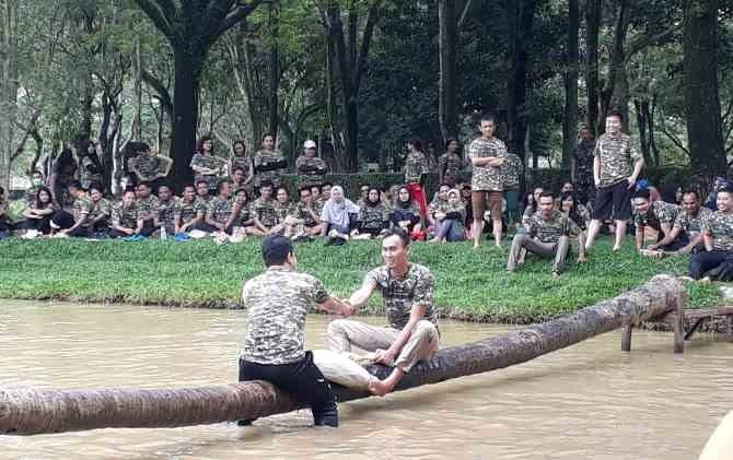 Tingkatkan Kedisiplinan Puluhan Leader Rfb Ikuti Military Activity Latihan Pt