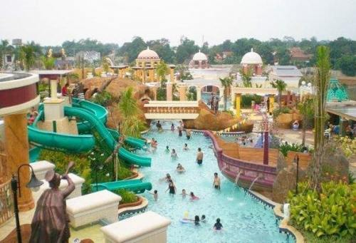 10 Kolam Renang Bogor Rame Menantang Wisata Marcopolo Country Club