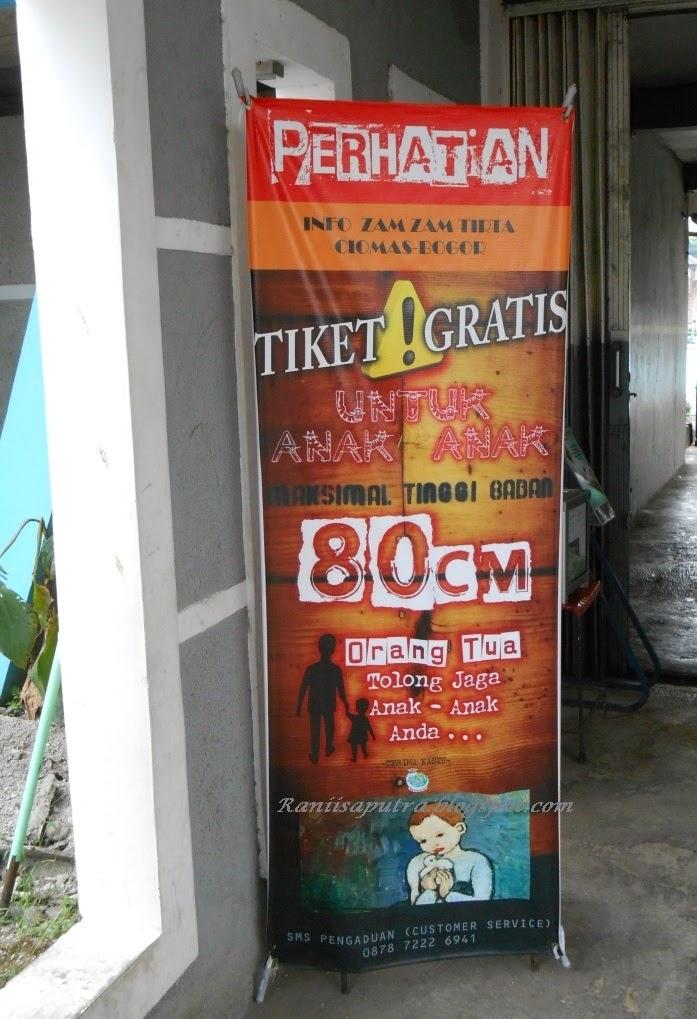 Zam Tirta Bogor Tempat Wisata Air Sekitar Barat Tiket Gratis