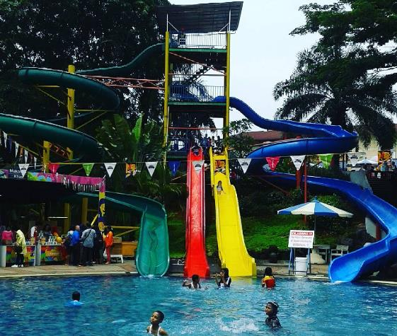 54 Tempat Wisata Bogor Wajib Dikunjungi Marcopolo Water Adventure Kab