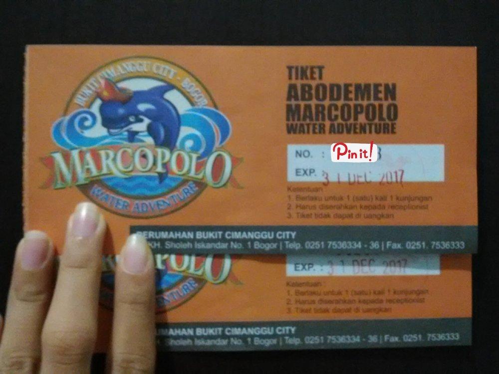 Jual Voucher Tiket Marcopolo Bogor Murah Lapak Bayu Saputra Adventure