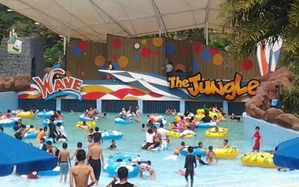 Jungle Waterpark Bogor Wahana Alamat Harga Tiket Lokasi Park Marcopolo