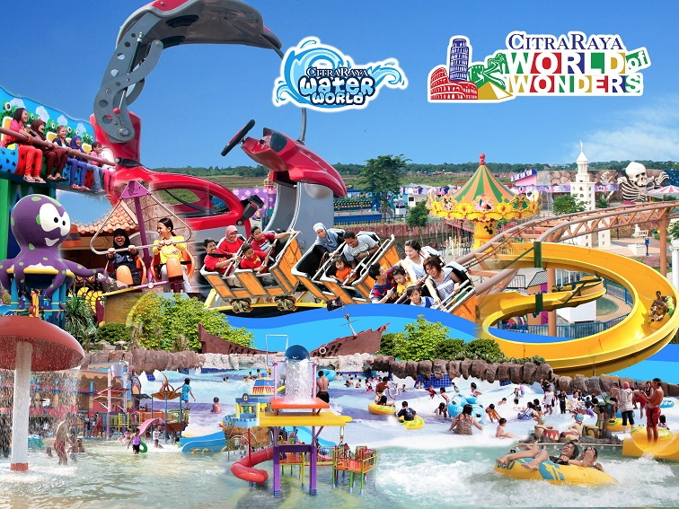 Pesona Wisata Air Waterpark Daerah Tangerang Banten 4 Citra Raya