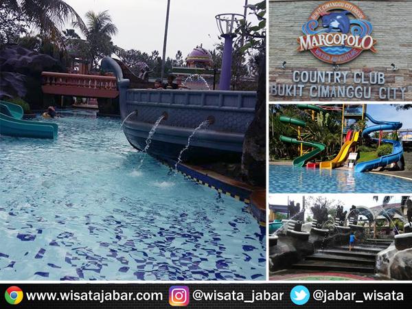 Wisata Seru Marcopolo Waterpark Adventure Bukit Cimanggu City Salah Satu