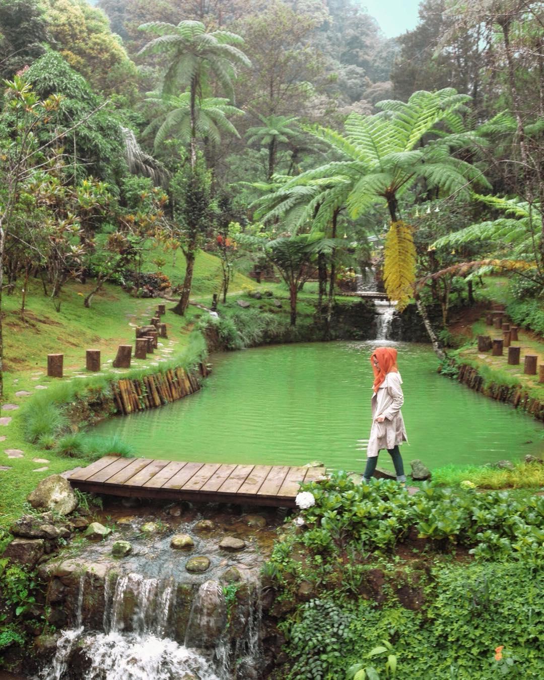 37 Tempat Wisata Bogor Hits Ngadem Cantik Melrimba Garden Kab