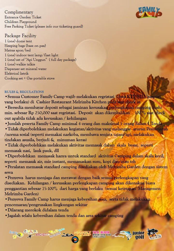 Melrimba Garden Experience Puncak Mountain Nursery Camping Ground Kab Bogor