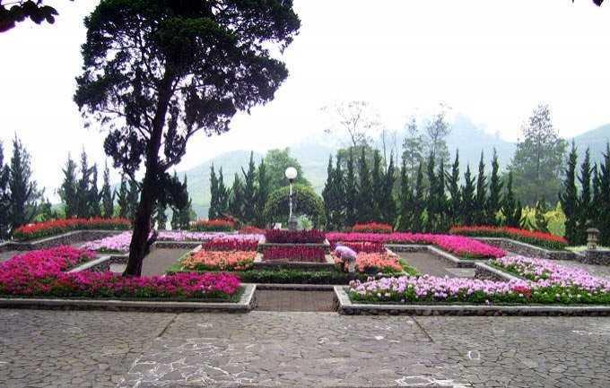 Tempat Wisata Terbaik Puncak Bogor Lemari Melrimba Garden Kab