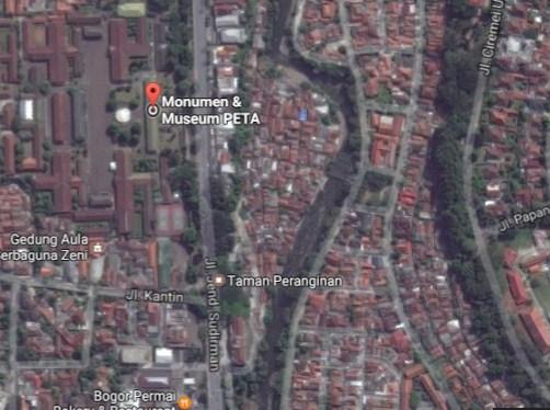 Pesona Keindahan Wisata Monumen Museum Peta Pabaton Bogor Jawa Demikianlah