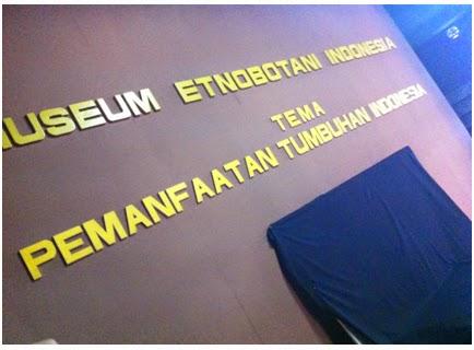 Laporan Perjalanan Museum Bogor Etnobotani Indonesia Terletak Tengah Kota Tepatnya