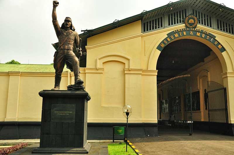 Museum Bogor Dikunjungi Wisatawan Garuda Citizen Peta Pembela Tanah Air
