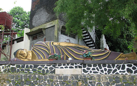 5 Patung Buddha Tidur Indonesia Kab Bogor