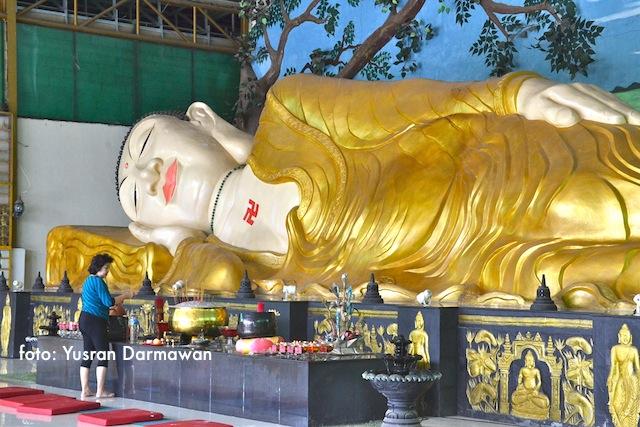 Buddha Tidur Kampung Bogor Yusran Darmawan Patung Kab