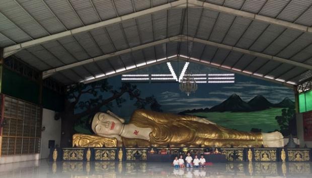 Bukan Thailand Patung Buddha Tidur Bogor Travel Budha Vihara 8