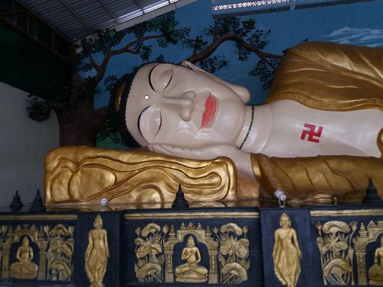 Bukan Thailand Patung Buddha Tidur Raksasa Bogor Kurnia Detiktravel Kab
