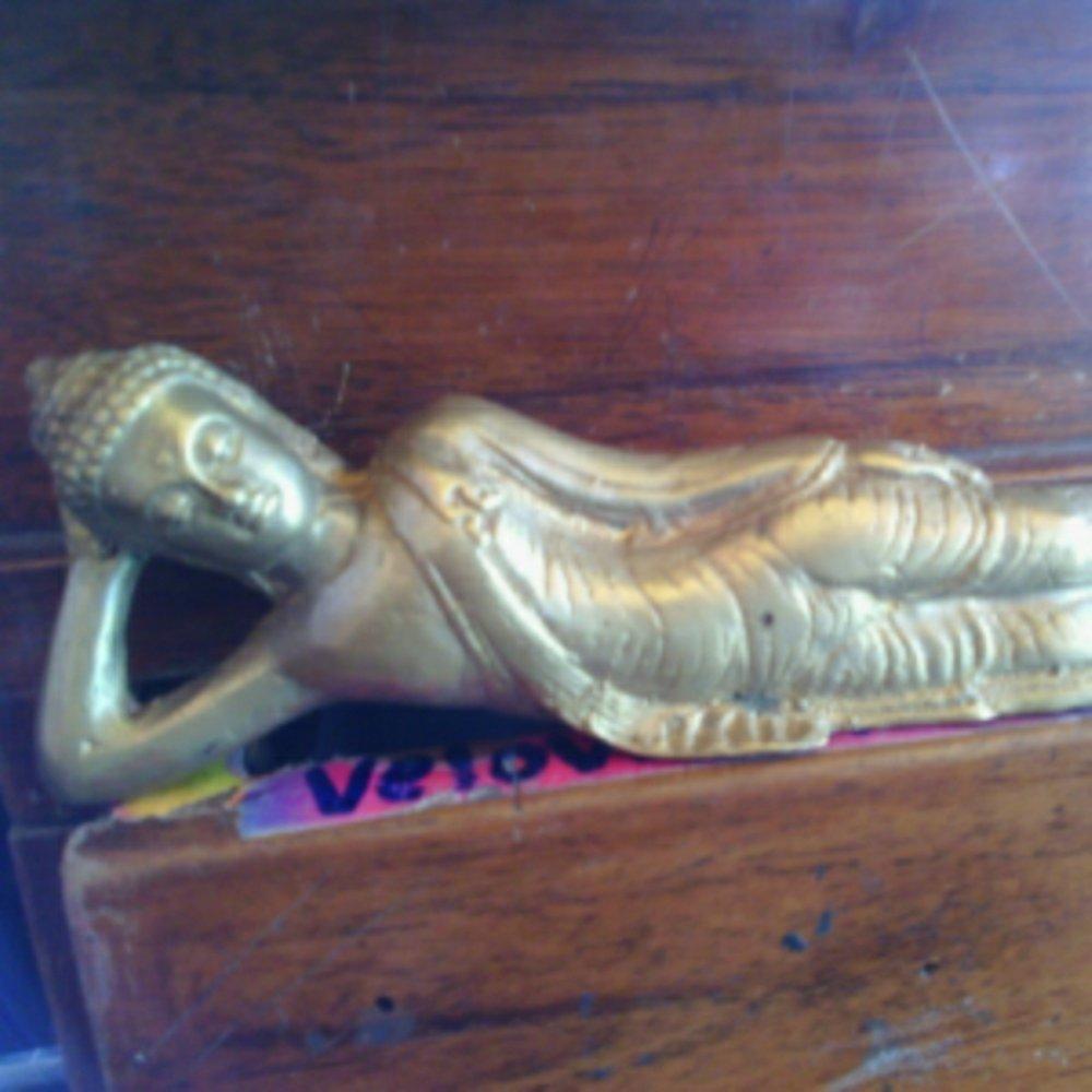 Jual Patung Budha Tidur Kuningan Lapak Eldin Ironstone Buddha Kab