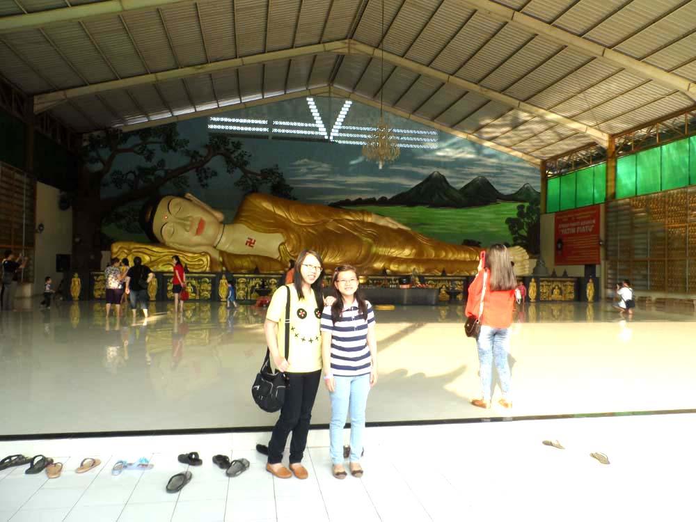 Lokasi Makna Patung Budha Tidur Raksasa Gong Xi Fa Cay