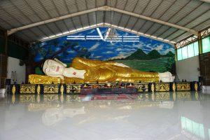 Patung Buddha Tidur Bogor Dicari Wisatawan Kab