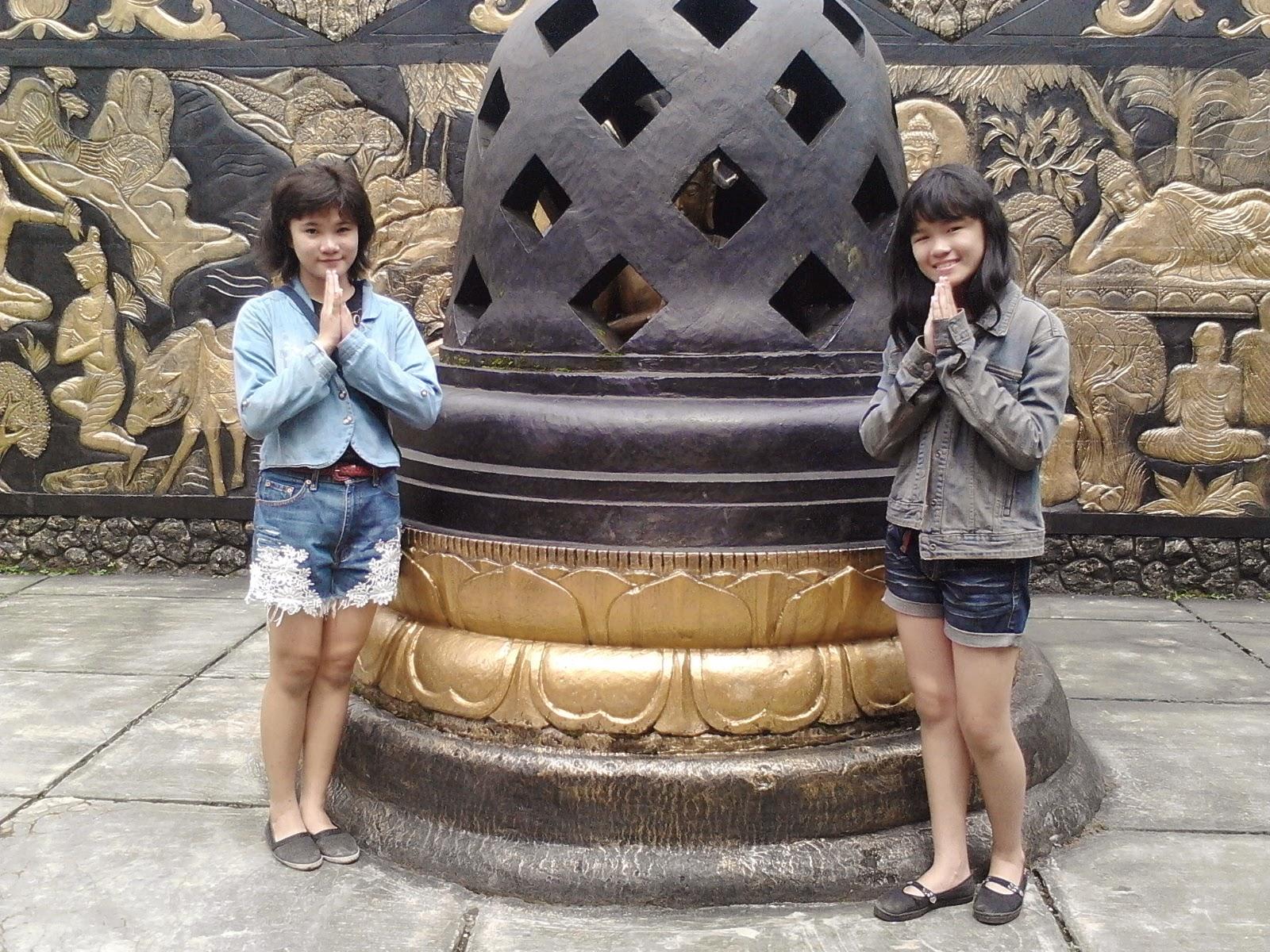 Patung Buddha Tidur Raksasa Bogor Sleeping Bertuliskan Vihara Dharma 8