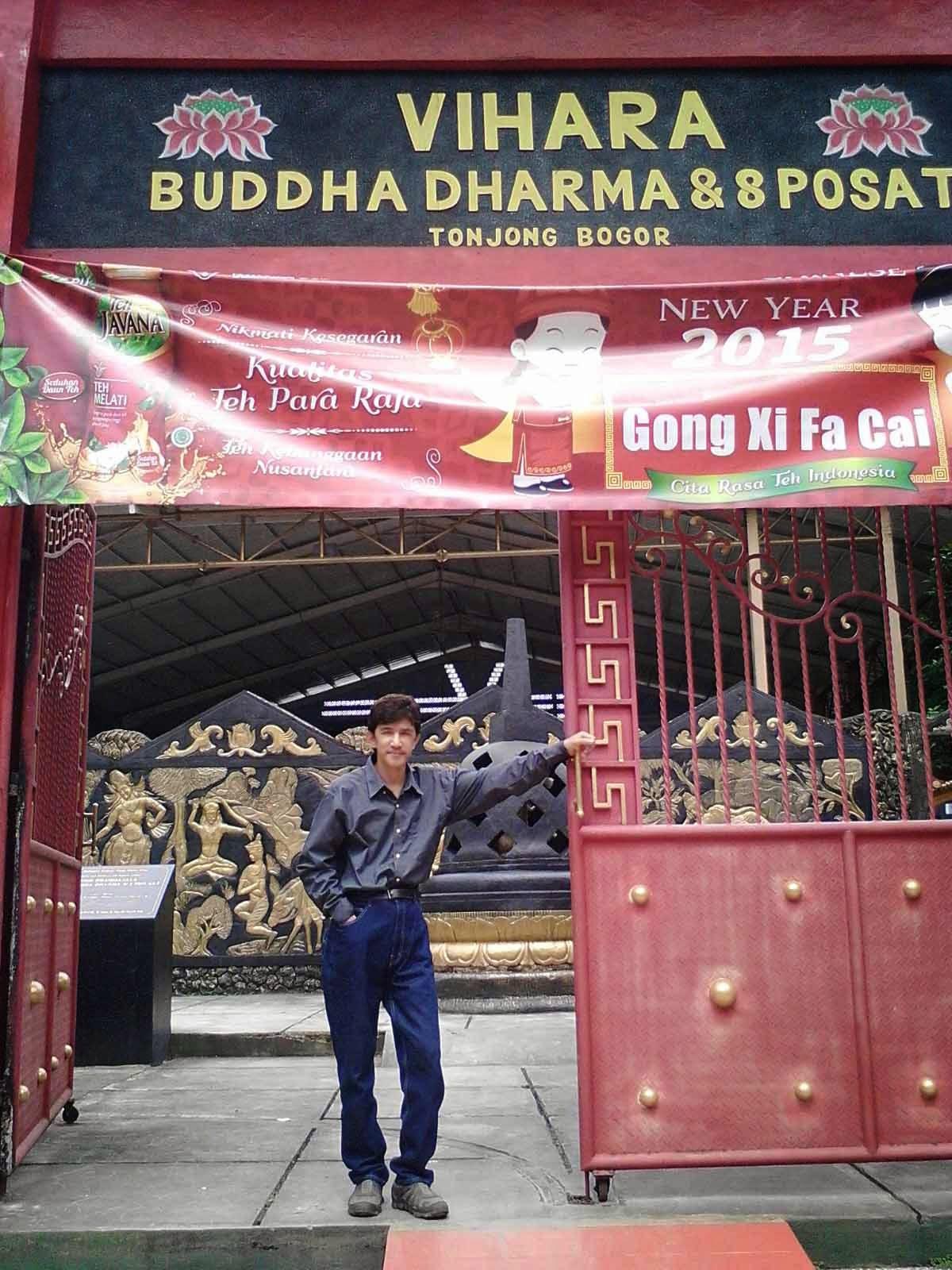 Patung Buddha Tidur Raksasa Bogor Sleeping Posisi Sebenarnya Tidak Melainkan