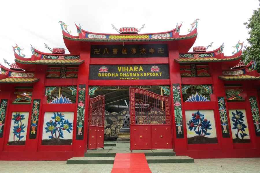 Patung Buddha Tidur Terbesar Indonesia Kaskus Kab Bogor