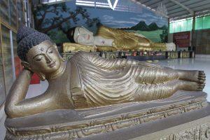 Patung Budha Tidur Terbesar Indonesia Tonjong Bogor Besar Tampak Nyenyak