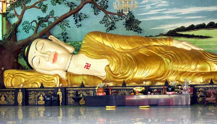 Patung Budha Tidur Terbesar Jawa Barat Bogor Poskota News Ivan