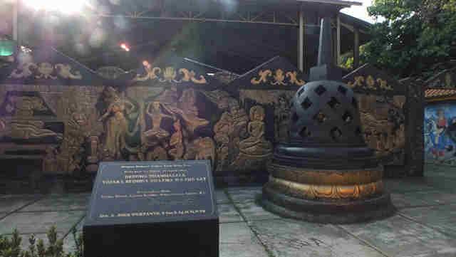 Patung Budha Tidur Vihara 8 Po Sat Lovely Bogor Buddha